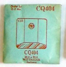 Vintage NOS G-S Crystal CQ404 for WITTNAUER Amherst* 22.6 x 22.6 mm