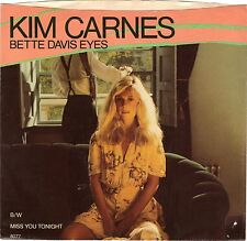 CARNES, Kim  (Bette Davis Eyes)  EMI 8077 = PICTURE SLEEVE ONLY!!!