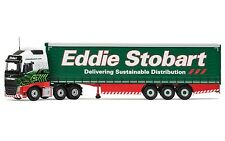 CC16002 Corgi Diecast Lorry Volvo FH,Eddie Stobart Curtainside Trailer 1:50 New