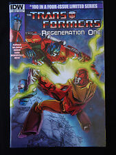 Botcon 2014 Transformers Regeneration One #100 Comic Variant Cover Exclusive NM