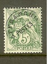 """FRANCE STAMP TIMBRE PREOBLITERE N°41a""""TYPE BLANC 5c SURCHARGE A PLAT"""" NEUF xx TB"""