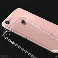 For iPhone 7 Plus Ultra Thin Slim Silicone Soft Clear Back Case Skin Cover