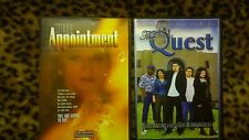 Christian Family Movies - The Appointment The Quest lot of 2 Religious