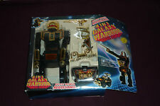 RARE Vintage 1985 Billco 4 in 1 Galaxy Warrior Robot Battery Op Changing Robot