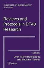 Subcellular Biochemistry Ser.: Reviews and Protocols in DT40 Research 40...