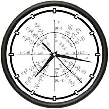 UNIT CIRCLE RADIAN Wall Clock trigonometry math teacher