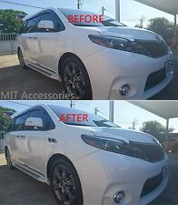 MIT Toyota SIENNA 2011-on Side body fender molding trim chrome chrome garnish
