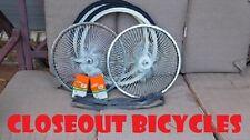 """WHEELS 20"""" 144 SPOKE W/TIRES LOWRIDER BMX BIKE BICYCLE #7037"""