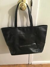 Marc By Marc Jacobs Black Leather Tote Handbag