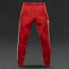NEW RETRO RED ADIDAS ORIGINALS SUPERSTAR BOTTOMS JOGGERS TRACK PANT X-SMALL MEN
