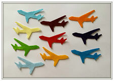 Felt Planes Shapes (10), Die Cut areoplane,airplane Craft Embellishments