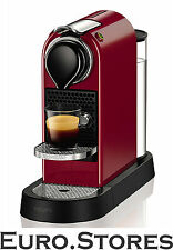 Krups XN7405 Nespresso Citiz Capsule Coffee Machine Cherry Red 1260W Genuine NEW