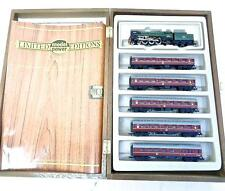 N Model Power Minitrix BRITANNIA Passenger Set 4-6-2 Pacific & 5 Passenger Cars