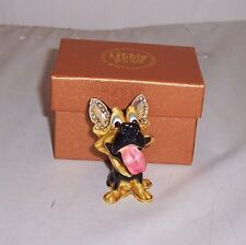 LITTLE PAWS Miniatures - figurine boxes Saskia German Shepherd