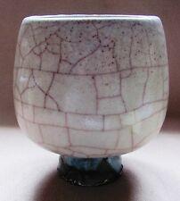 Pieter Groeneveldt Holland kristaliene Reduktionsglasur  Rosa Krakelee, gemarkt