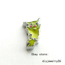 10pcs Cartoon Floating charms For Diy living memory Locket Free shipping FC1538