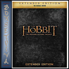 THE HOBBIT MOTION PICTURE TRILOGY - EXTENDED EDITIONS  *BRAND NEW DVD BOXSET***