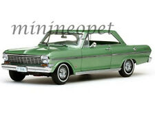 SUN STAR 3968 1963 CHEVROLET NOVA HARD TOP 1/18 DIECAST MODEL CAR LAUREL GREEN