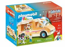Playmobil Ice Cream Truck Toy Set  Figures Kids Play Fun Toys Children City Life