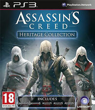 *Assassins Creed Heritage Collection PS3* Region Free ELE7