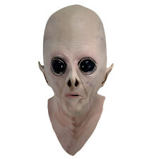 Scary Silicone Face Mask Realistic Alien Ufo Extra Terrestrial Party Cosplay WTF