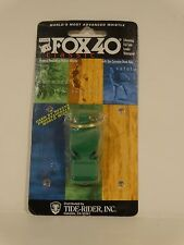 FOX 40 CLASSIC WHISTLE BLACK 115dB, NBA, NFL Survival pet command SAFETY OUTDOOR