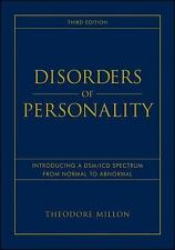 Disorders of Personality: Introducing a DSM / ICD Spectrum from Normal to Abnorm