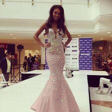 Jovani Dress Blush 944  Prom Homecoming Size 2-4