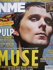 NME 27/8/11 - MUSE - FLORENCE - PETE DOHERTY