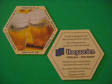 Beer Bar Coaster *~* HOEGAARDEN Brewery ~ Belgium's Original White Bier, Blanche