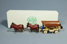 Fracht Planwagen Pferde Gespann - Erzgebirge Seiffen Miniatur Günter Flath / 19