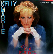 "7"" 1982 RARE IN MINT- ! KELLY MARIE : Silent Treatment"