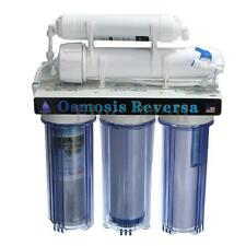 5 Stage 50GPD Water Filter System Reverse Osmosis Filtration Drinking Home