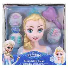 Frozen Elsa Styling Head, Model Hairdresser, kids toys