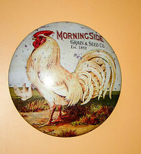 Rustic Metal Rooster Advertising Sign Country Home Deco