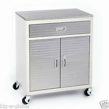 New One Drawer Rolling Garage Metal Storage Cabinet Tool Box Stainless Steel Top