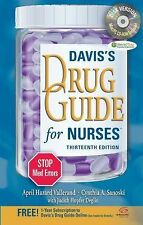 Davis' Drug Guide For Nurses by Vallerand
