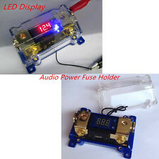 Car Audio Power Fuse Holder Electrical Cable Connecting Spliter Power Terminal