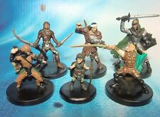 Dungeons & Dragons Miniatures Lot  Adventuring Character Party !!  s100