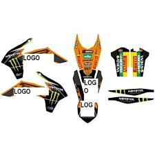 KIT GRAFICHE ADATTABILE SU KTM EXC 12 13 14 SX 11 12 13 14 DUNGEY MONSTER