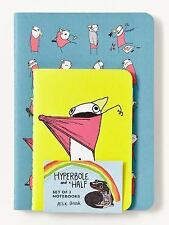 Hyperbole and a Half Notebooks (Set Of 3) by Allie Brosh (2015, Print, Other)