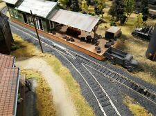 HO Roco Minitanks Built Weathered Freight Warehouse Custom Detailed