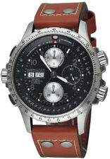 Hamilton Khaki Aviation X-Wind Chronograph Auto Men's Watch H77616533 New Orig