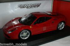 Burago Ferrari 488 GTB 1:18 Red
