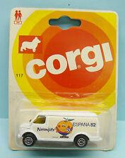 15952 CORGI TOYS /CORGI JUNIOR /DODGE US VAN NARANJITO ESPANA FOOT CUP 1982 1/64
