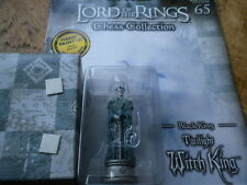 Eaglemoss Lord Of The Rings Chess Set 3 Issue 65 Twilight Witch King Black King