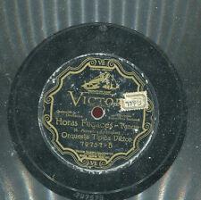 TANGO ORQUESTA VICTOR - TRAPO VIEJO / HORAS FUGACES - 78 Disk