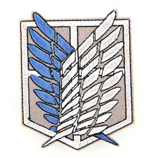 Shingeki no Kyojin Attack on Titan Recon Corps Logo Emblem Patch Badge Cosplay
