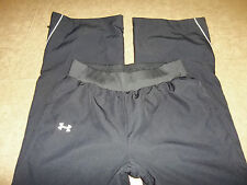 UNDER ARMOUR PANTS ALL SEASONS GEAR LOOSE ZIP HEMS GYM JOG WOMENS S FREE SHIP