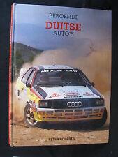 Rebo Book Beroemde Duitse Auto's Peter Roberts (Nederlands) (JvH) 1985